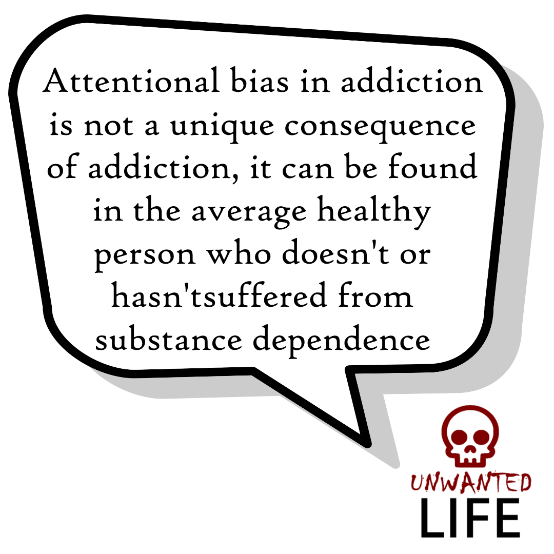 Attentional Bias: Evidence For Addictive Behaviours 3