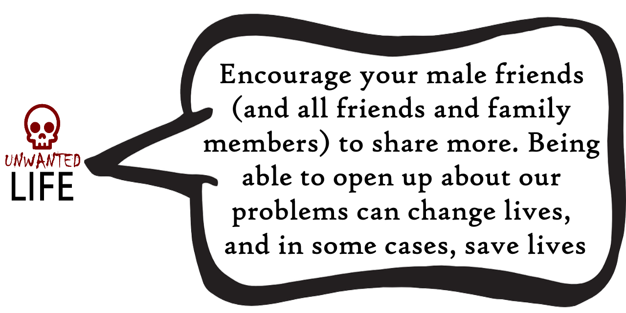 A quote from the blog Unwanted Life's article - How To Always Be There For A Friend: #BeTheMateYoudWant 4