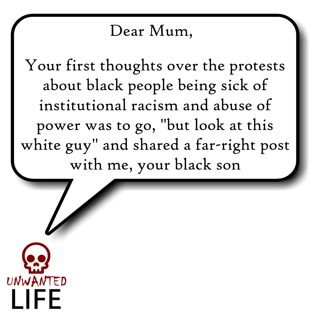 BLACK LIVES MATTER: A LETTER TO MY MUM 2