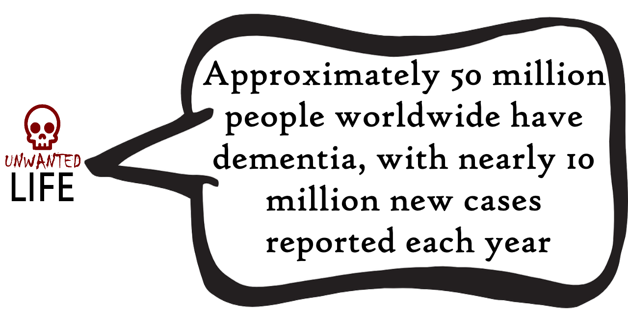 A quote from the blog Unwanted Life's article - What is Dementia? Awareness, Information, And Advice 3