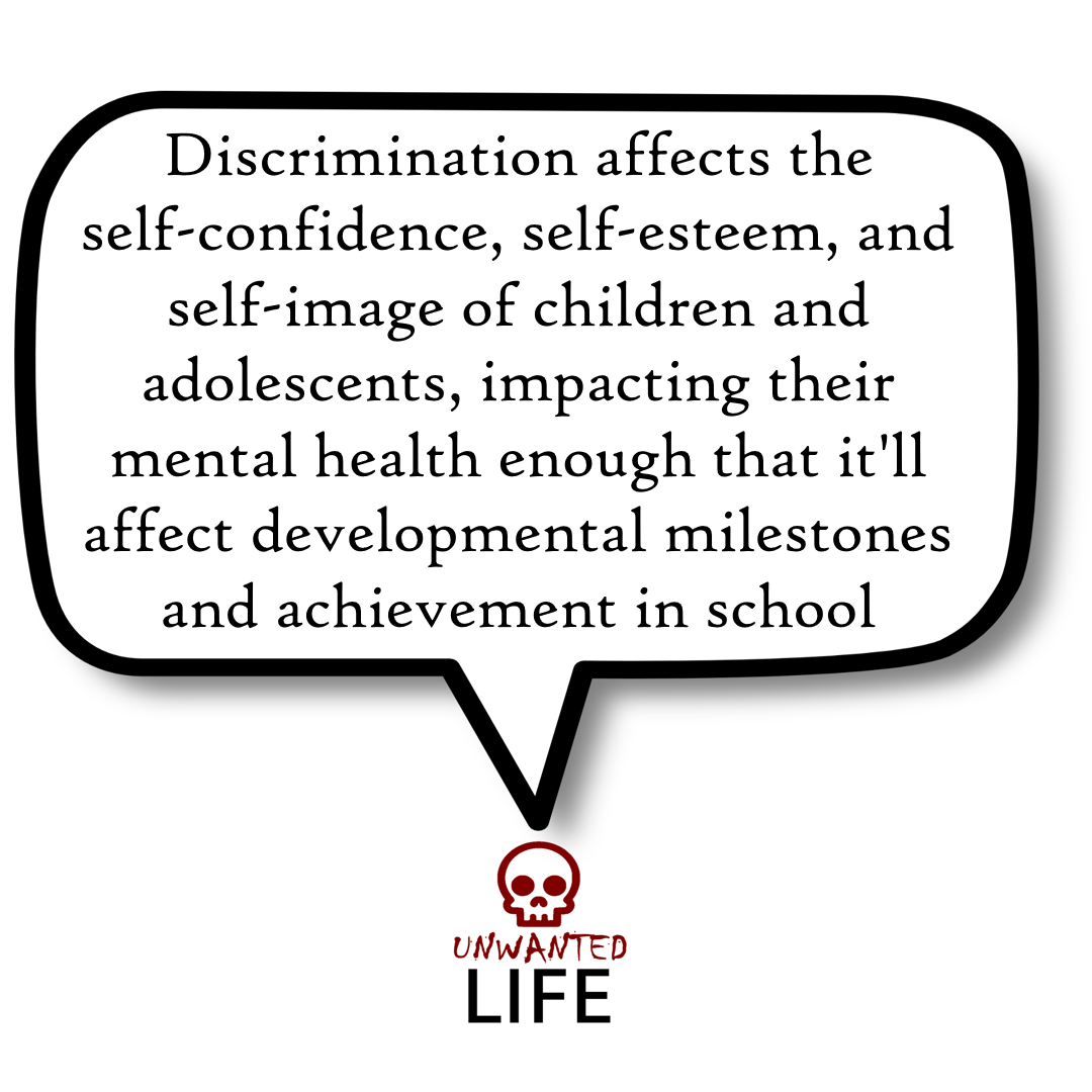 A quote from the blog Unwanted Life's article - Discrimination: Black Lives Matter And LGBTQ+ 1