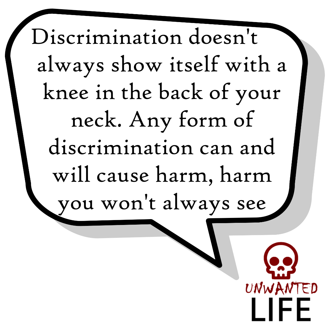 A quote from the blog Unwanted Life's article - Discrimination: Black Lives Matter And LGBTQ+ 4
