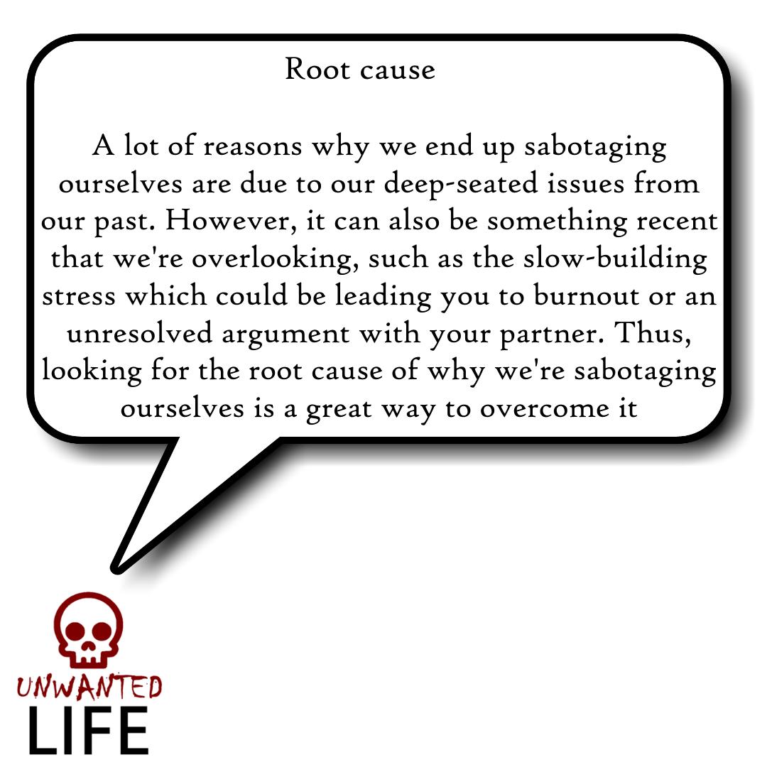 How Do I Stop Sabotaging Myself? 3