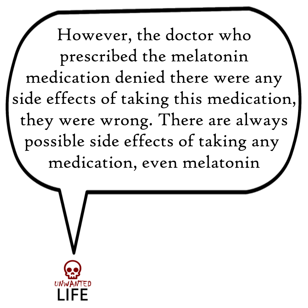 A quote from the blog Unwanted Life's article - Medication: How To Report Bad Interactions 2