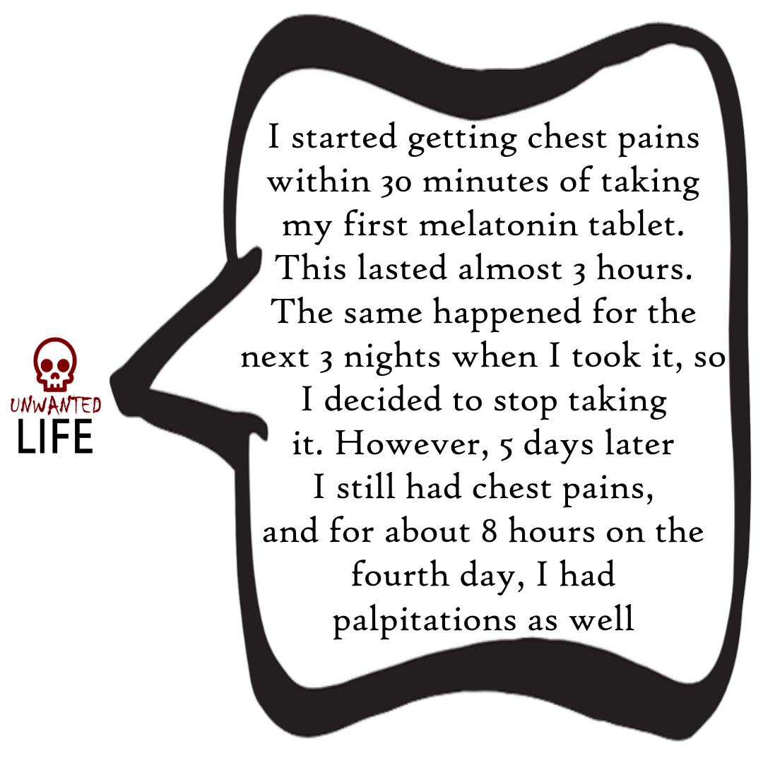A quote from the blog Unwanted Life's article - Medication: How To Report Bad Interactions 3