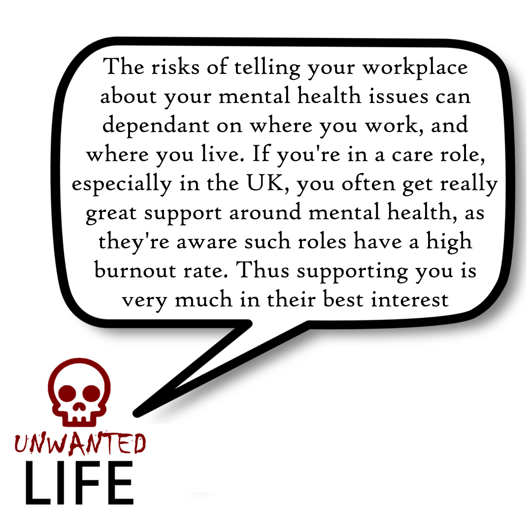 Mental Health: Should You Inform Your Workplace? 1