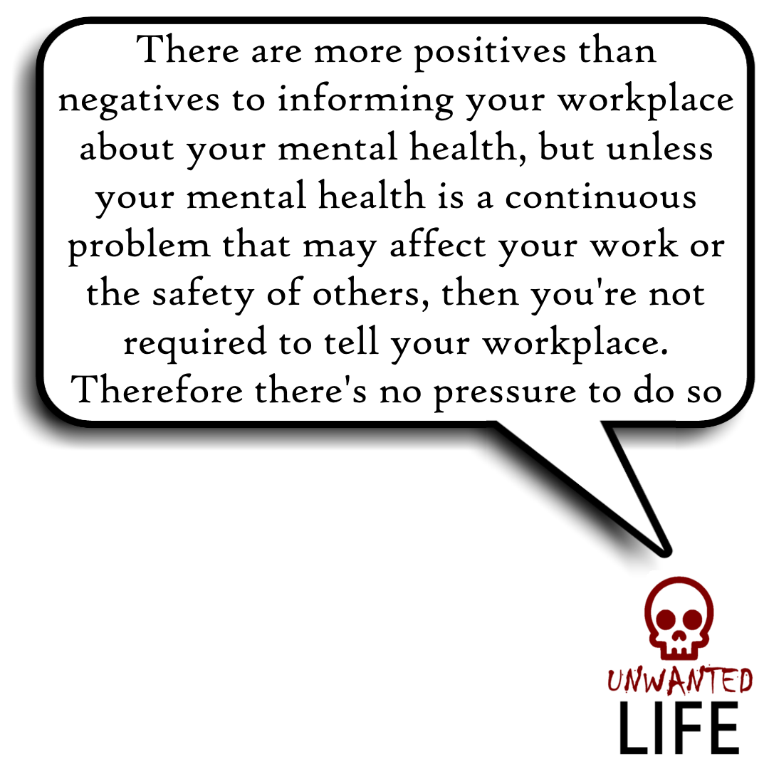 Mental Health: Should You Inform Your Workplace? 5