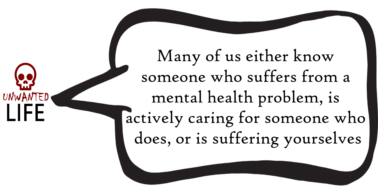 A quote from the blog Unwanted Life's article - Mental Health: Painting A Picture Of The Issues With Statistics 5