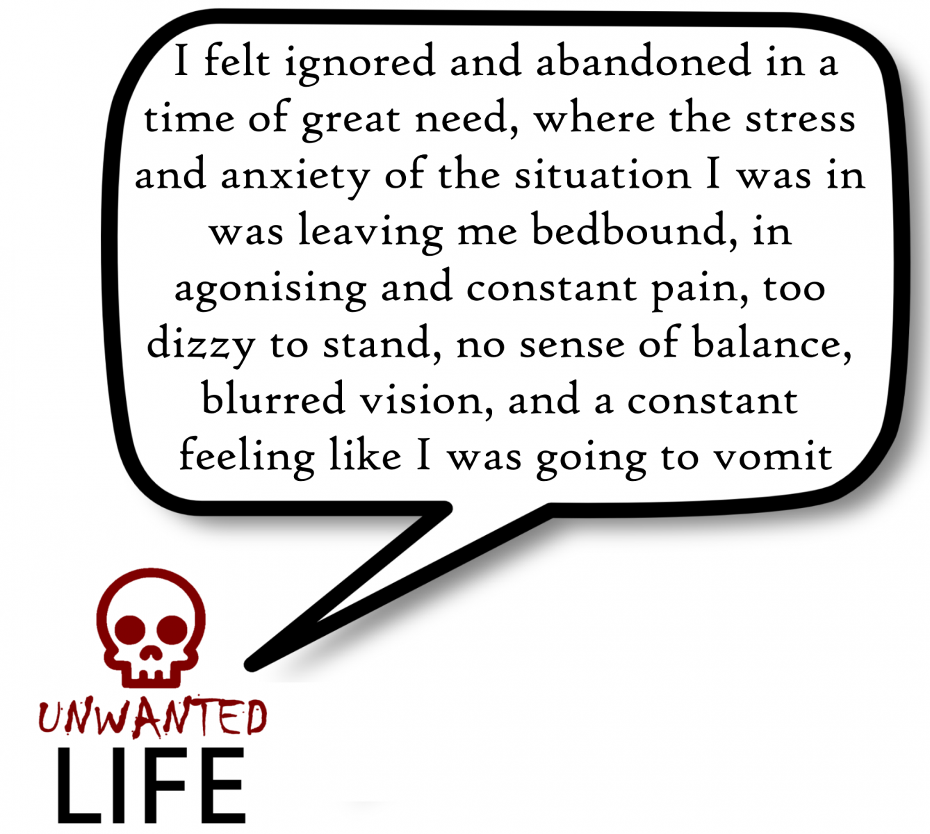A quote from the blog Unwanted Life's article - My Experience Of Being In One-To-One Schema Therapy 5