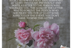 forgiveness letter | Positive Psychology Intervention | Unwanted Life | Mental Health and Wellness Blog