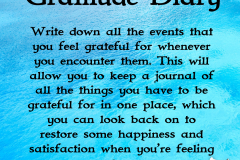 gratitude diary | Positive Psychology Intervention | Unwanted Life | Mental Health and Wellness Blog