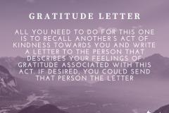 gratitude letter | Positive Psychology Intervention | Unwanted Life | Mental Health and Wellness Blog