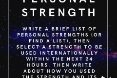 personal strength | Positive Psychology Intervention | Unwanted Life | Mental Health and Wellness Blog