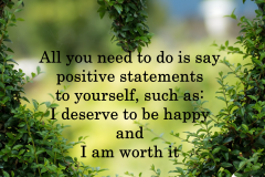 positive affirmations | Positive Psychology Intervention | Unwanted Life | Mental Health and Wellness Blog
