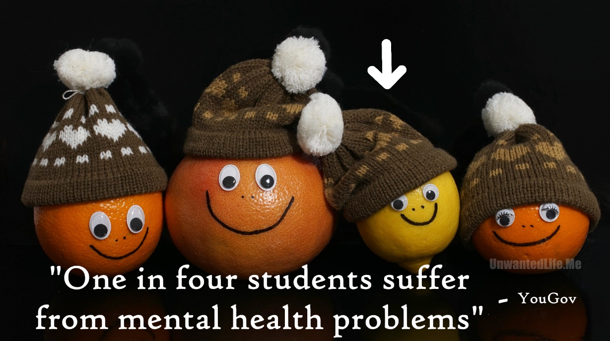 1 in 4 Students Mental Health Unwanted Life | Mental Health and Wellness