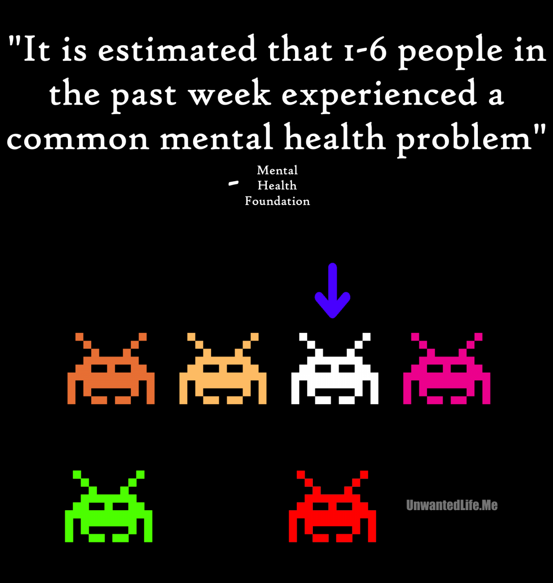 1 in 6 Mental Health Unwanted Life | Mental Health and Wellness