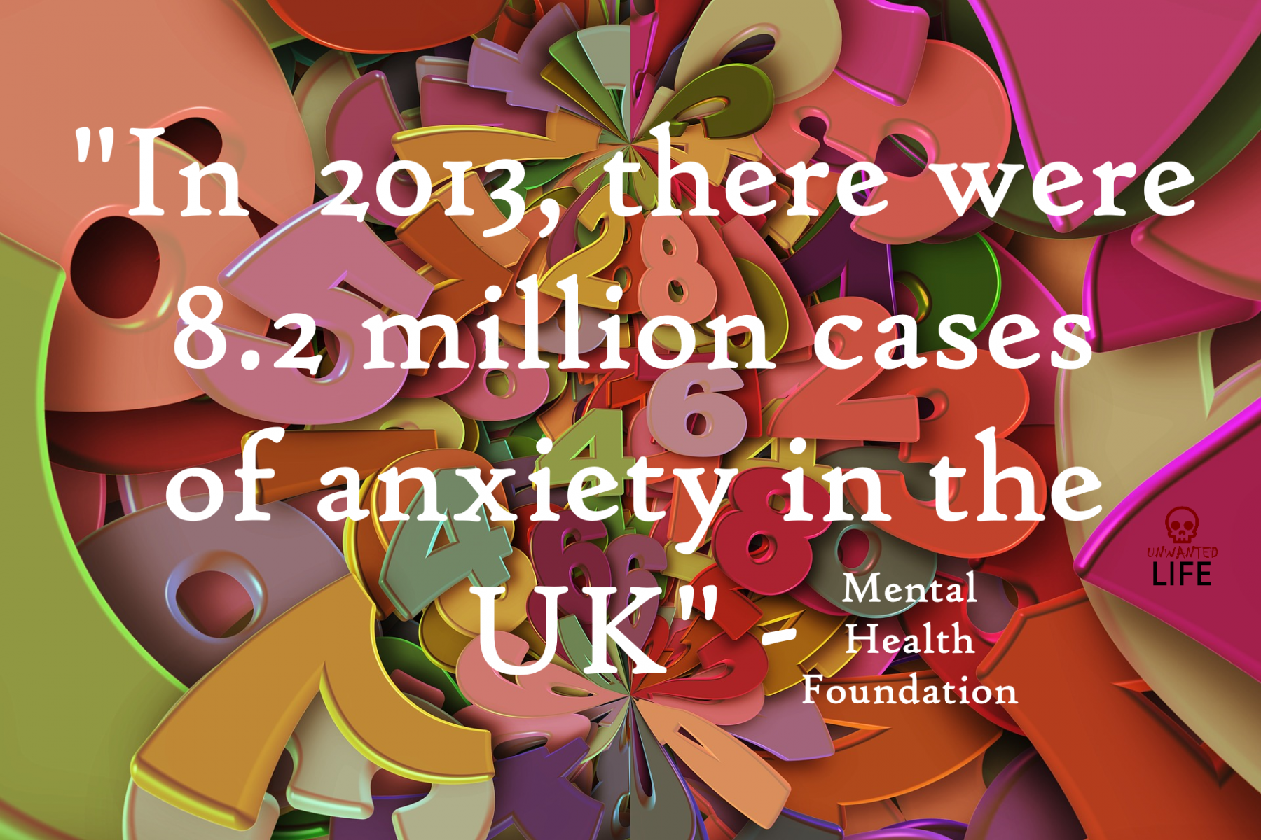 Anxiety UK Mental Health Unwanted Life | Mental Health and Wellness