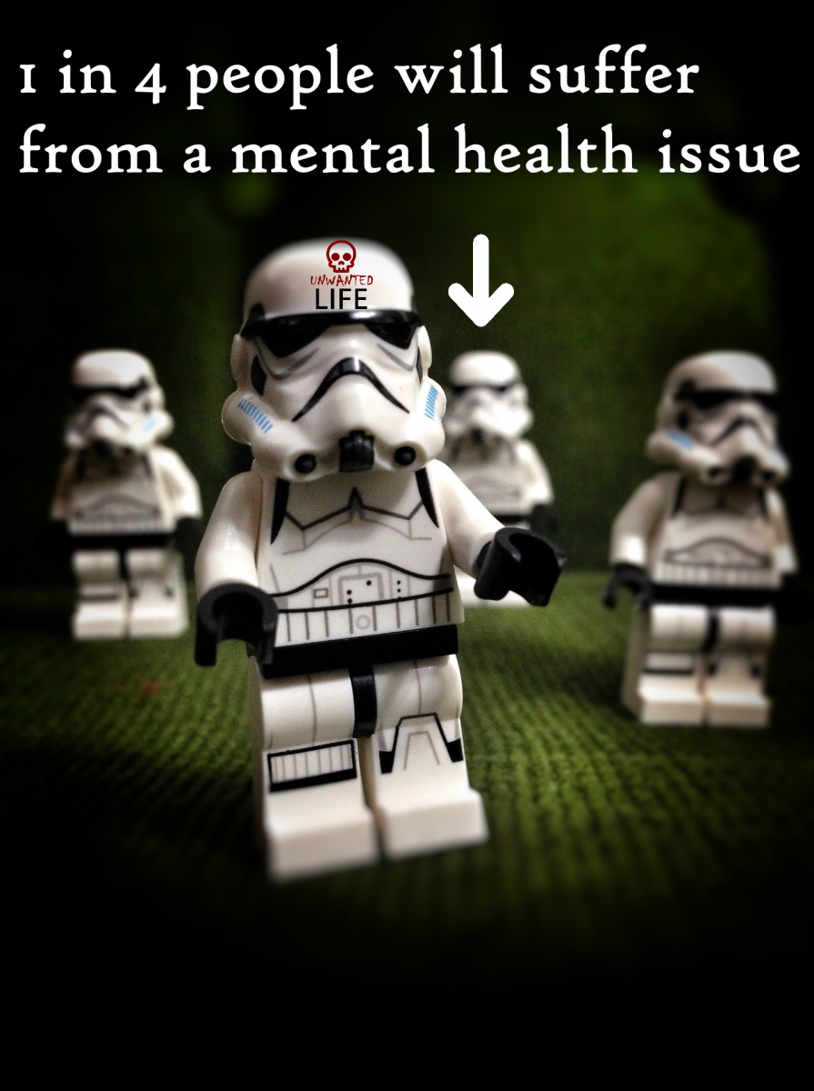 1 in 4 Star Wars  Mental Health Unwanted Life | Mental Health and Wellness