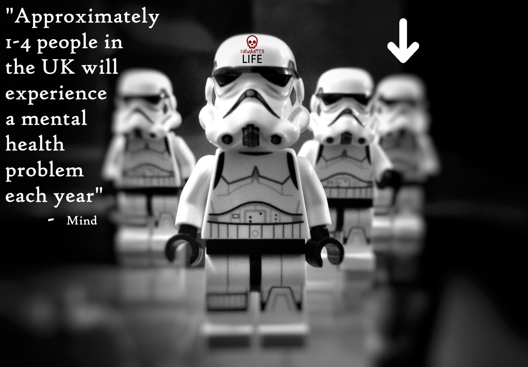 Star Wars 1 in 4  Mental Health Unwanted Life | Mental Health and Wellness