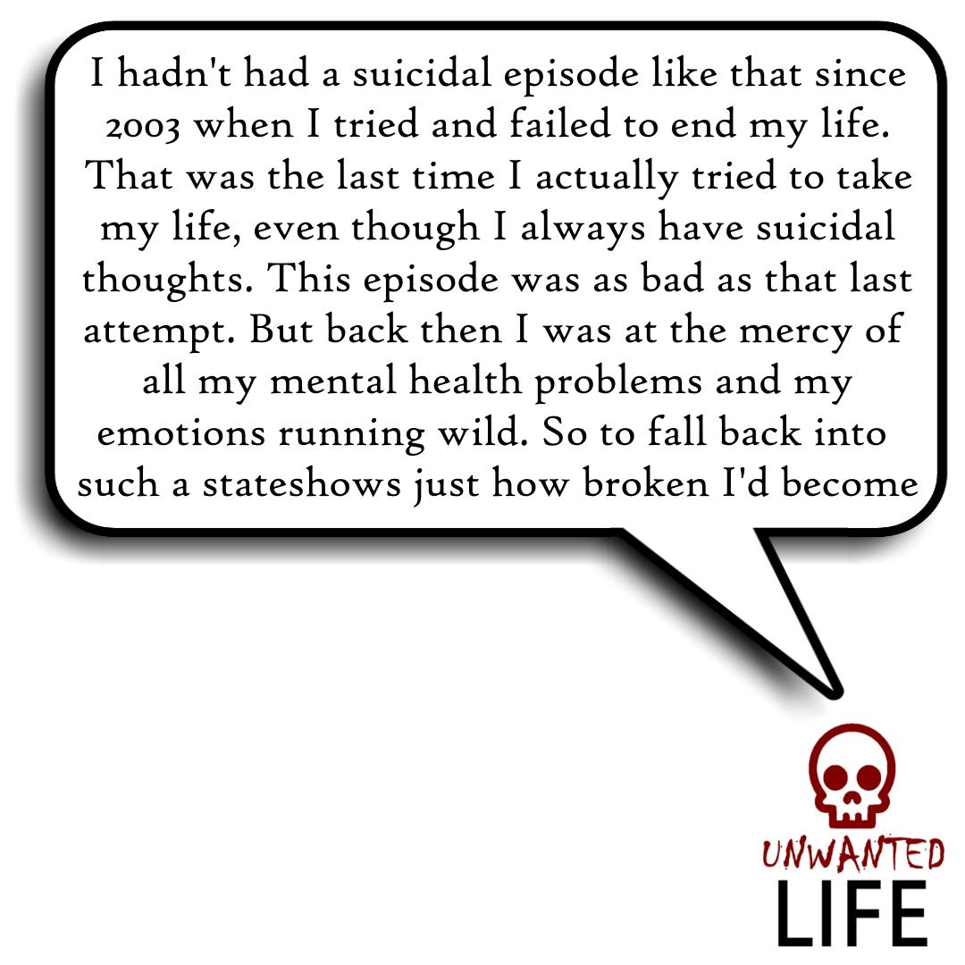 Suicidal Episode At University 3