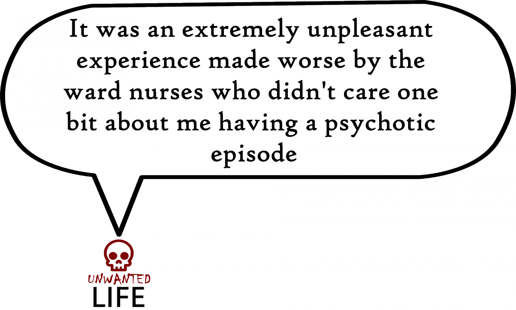 A quote from the blog Unwanted Life's article - The Weird Behaviour Of My Anxiety Disorders 2
