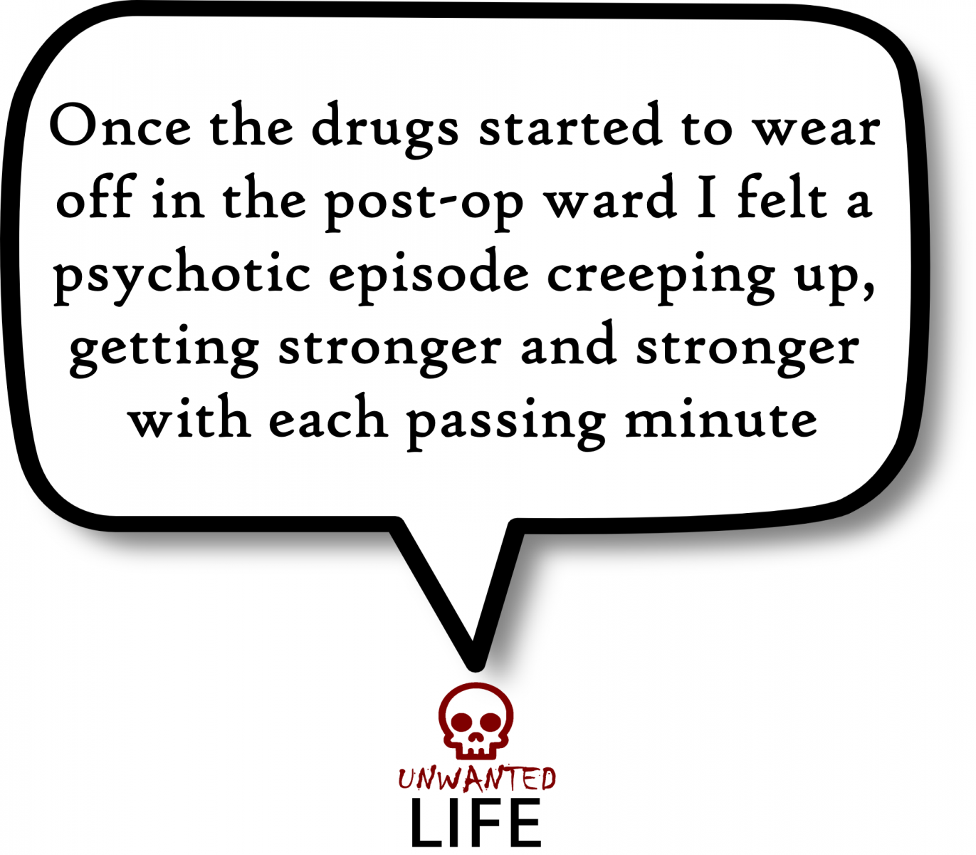 A quote from the blog Unwanted Life's article - The Weird Behaviour Of My Anxiety Disorders 3