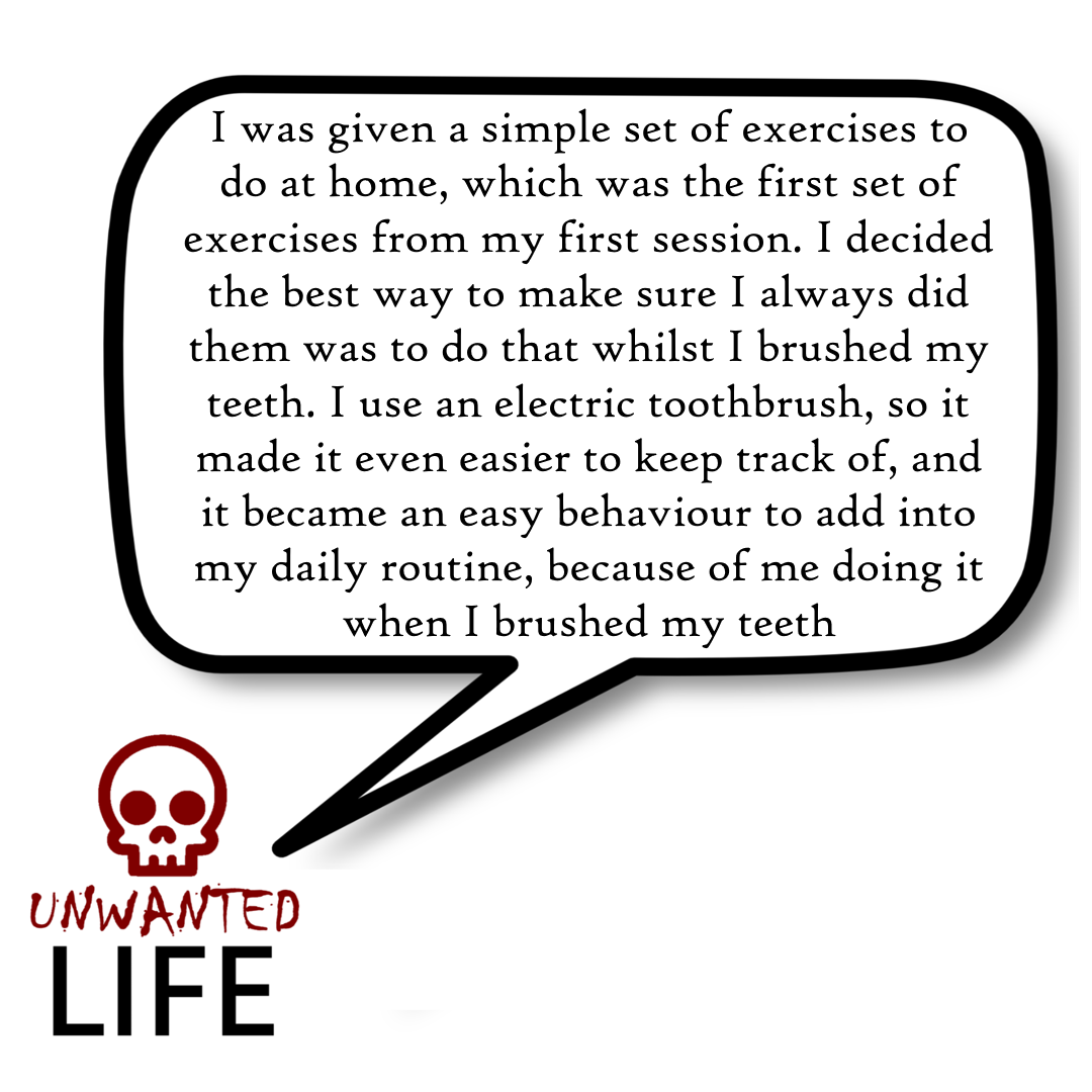 A quote from the blog Unwanted Life's article - Vestibular Physiotherapy: What Is Brain Retraining? 4