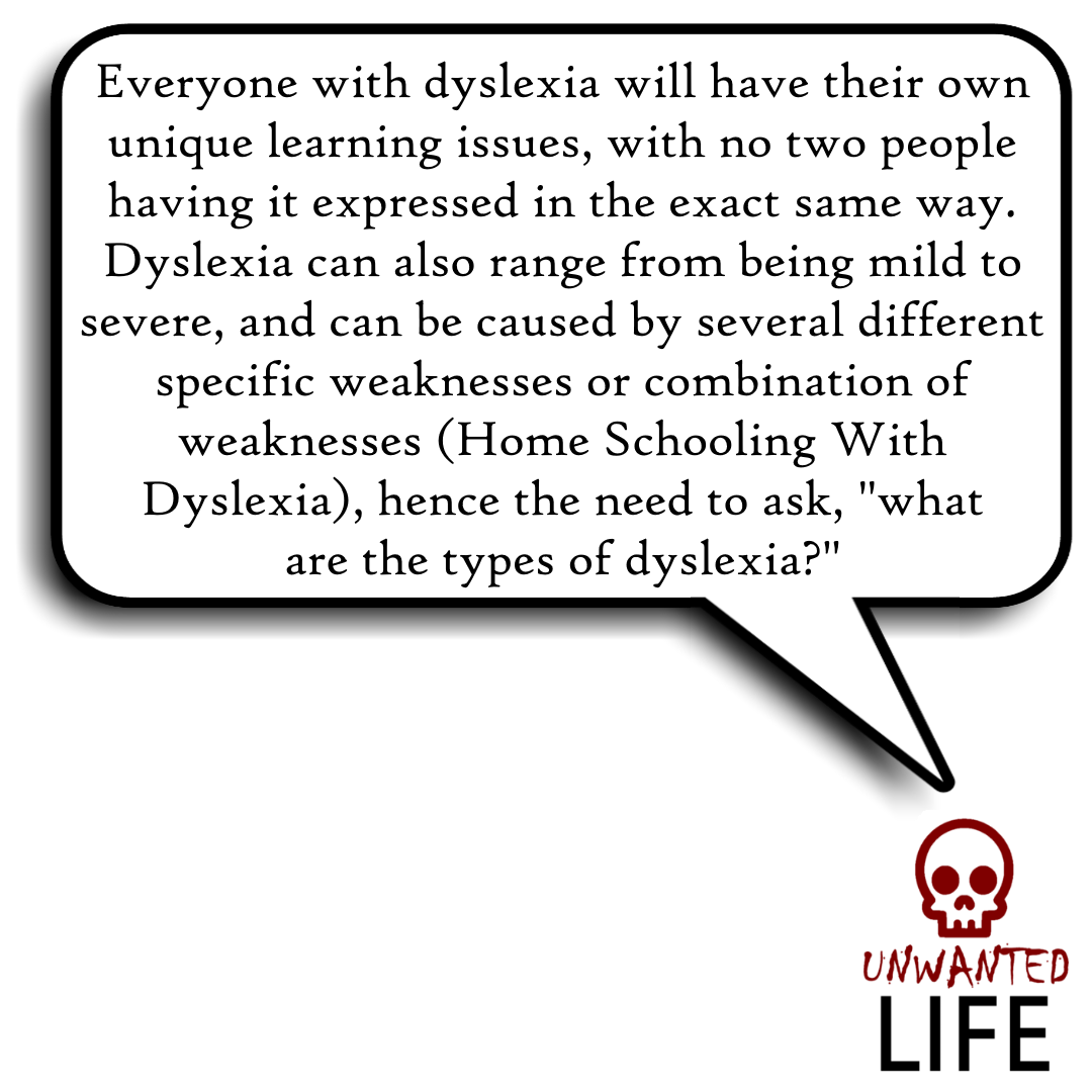 What Are The Types Of Dyslexia? | Learning Difficulties and Education 2