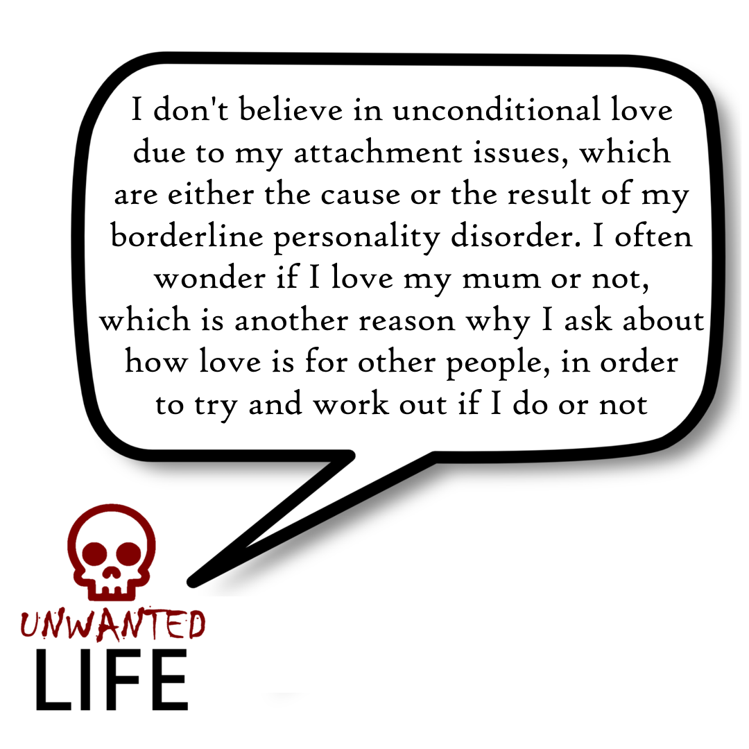 A quote from the blog Unwanted Life's article - What Is Romantic Love? 5