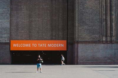 A photo of the Tate Modern's entrance