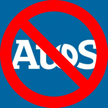 Atos logo crossed out to represent the topic of the article - Why I Hate Atos And Their Assessments