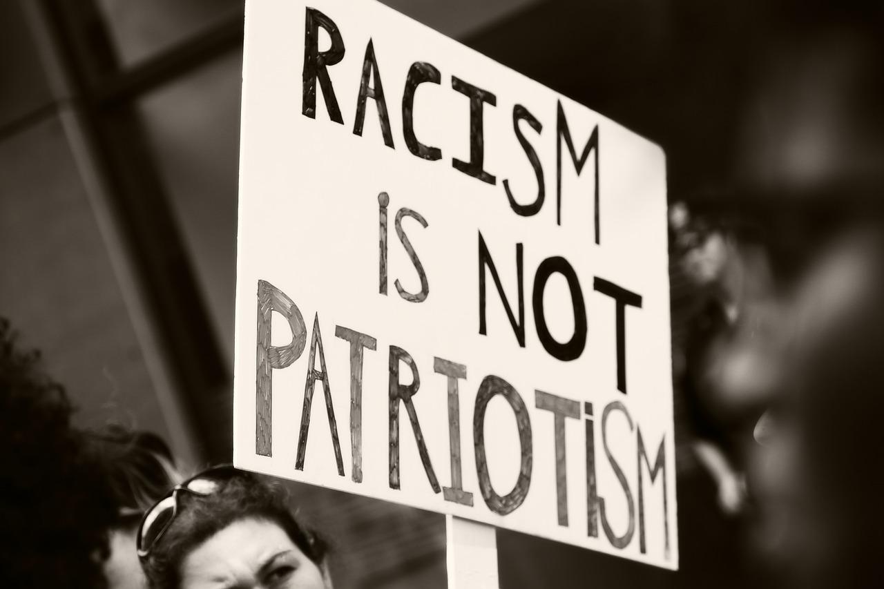 racism isn't patriotism