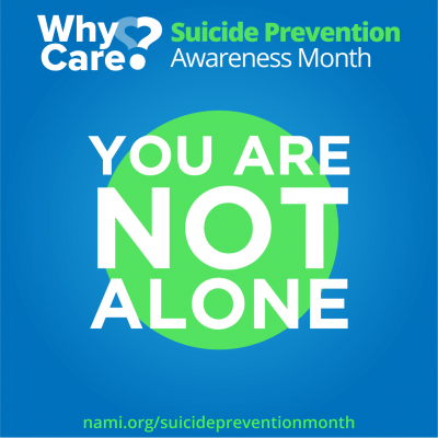 World Suicide Prevention Month