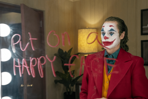 A promotional photo from the film Joker to represent the article - Joker: A Film Review Of Its Portrayal Of Mental Health