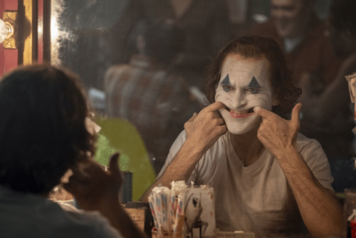 A promotional photo from the film Joker to represent the article title - Joker: A Film Review Of Its Portrayal Of Mental Health