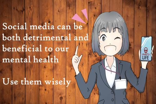 anime social media use warning