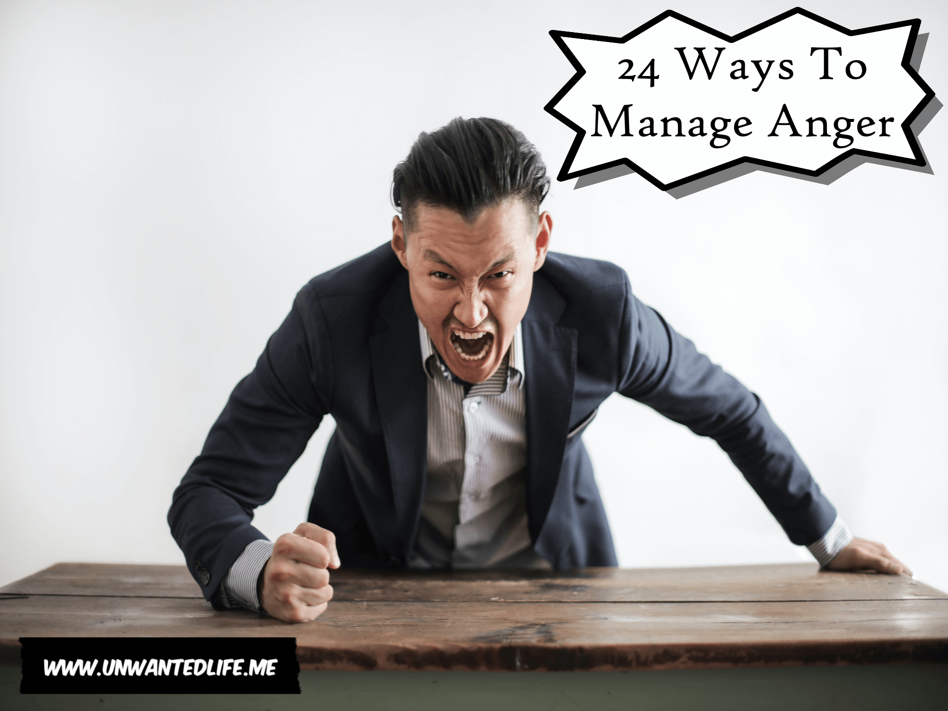24 Ways To Manage Anger | Mental Health and Wellness