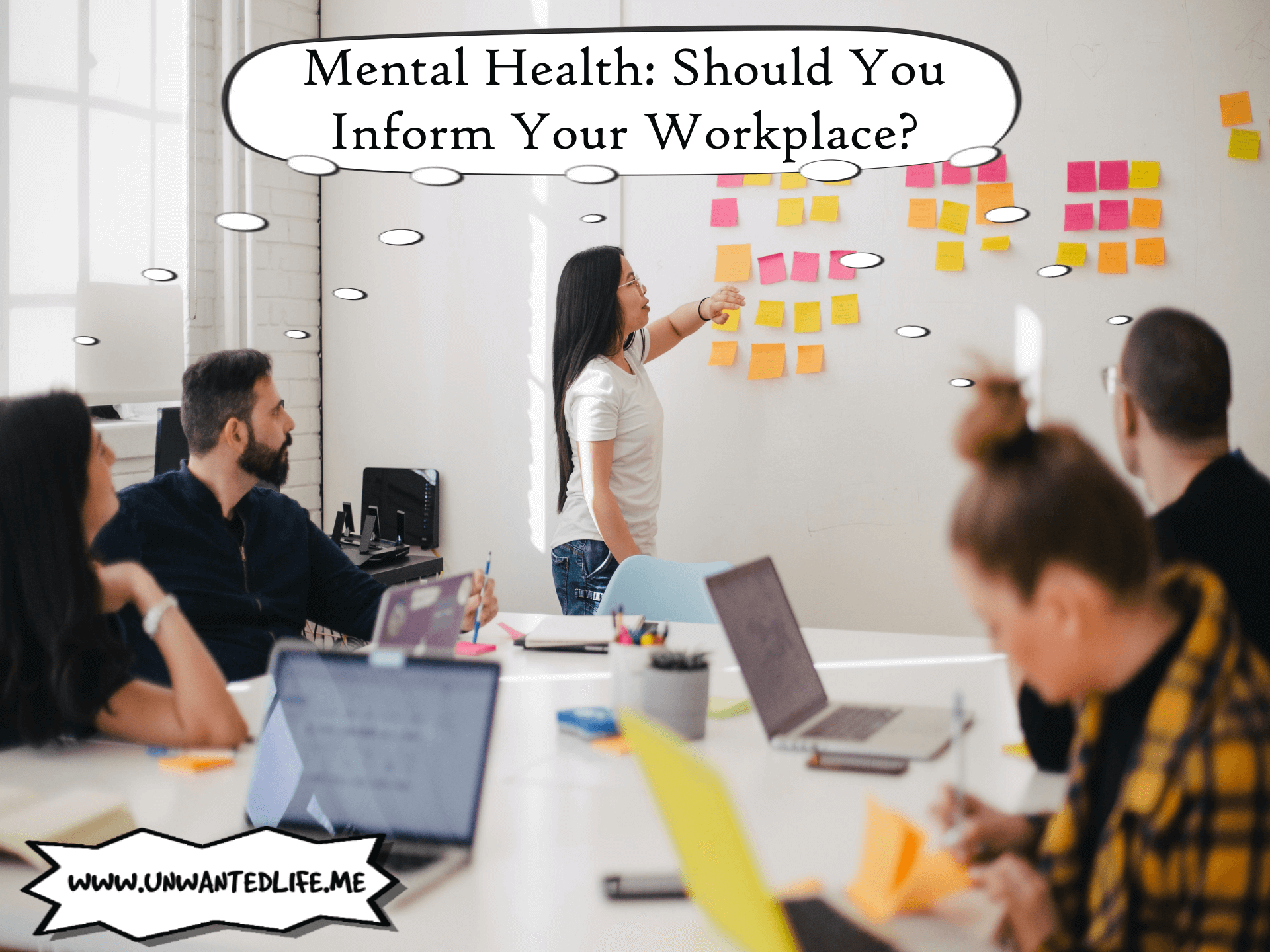 Mental Health Should You Inform Your Workplace - Wellbeing and Wellness