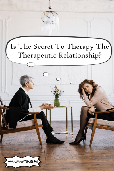 Is The Secret To Therapy The Therapeutic Relationship | Mental Health