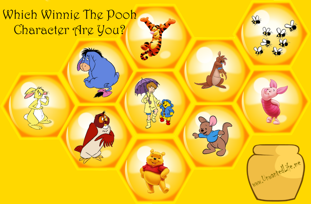 Which Winnie The Pooh Character Are You? | Mental Health, Dyslexia, and Wellness | Unwanted Life