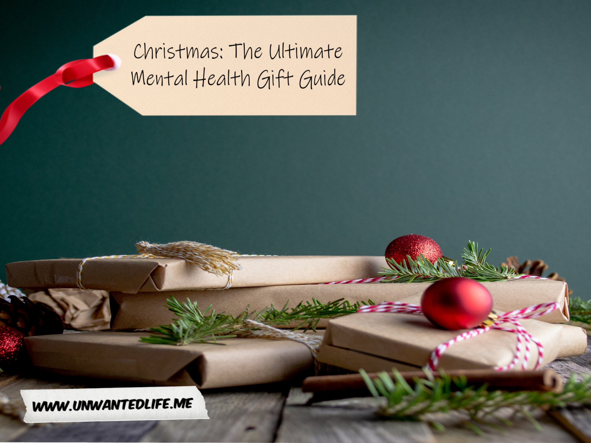 A photo of a collection of presents on a table to represent - Christmas: The Ultimate Mental Health Gift Guide