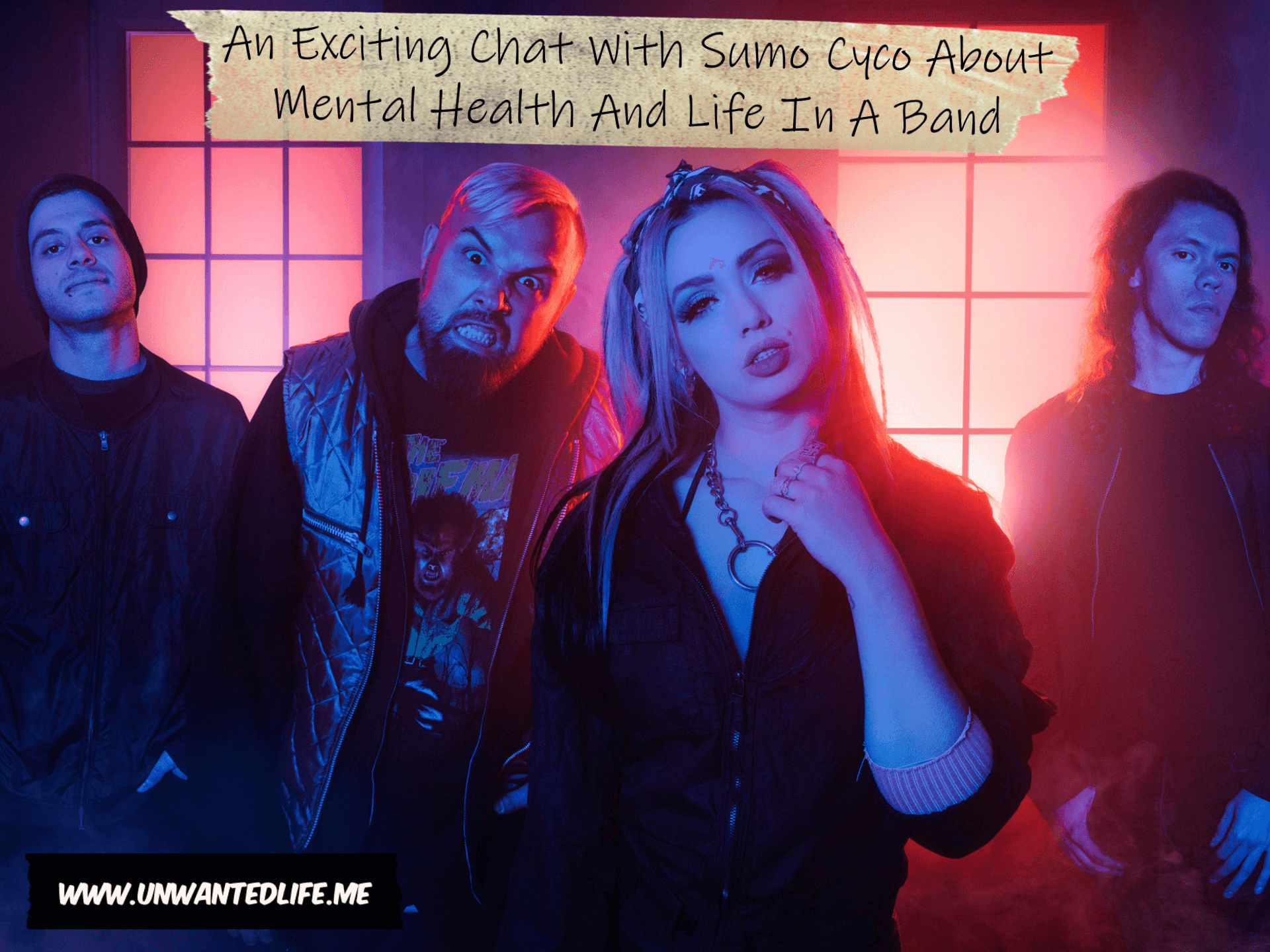 A photo of the band Sumo Cyco to represent the topic of the article - An Exciting Chat With Sumo Cyco About Mental Health And Life In A Band