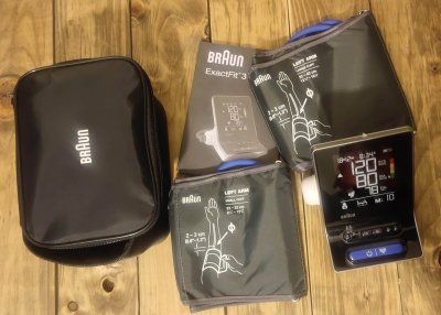 A photo of my Braun ExactFit 3 to represent the topic of the article - Health Data: A Triple Review Of Health And Medical Devices