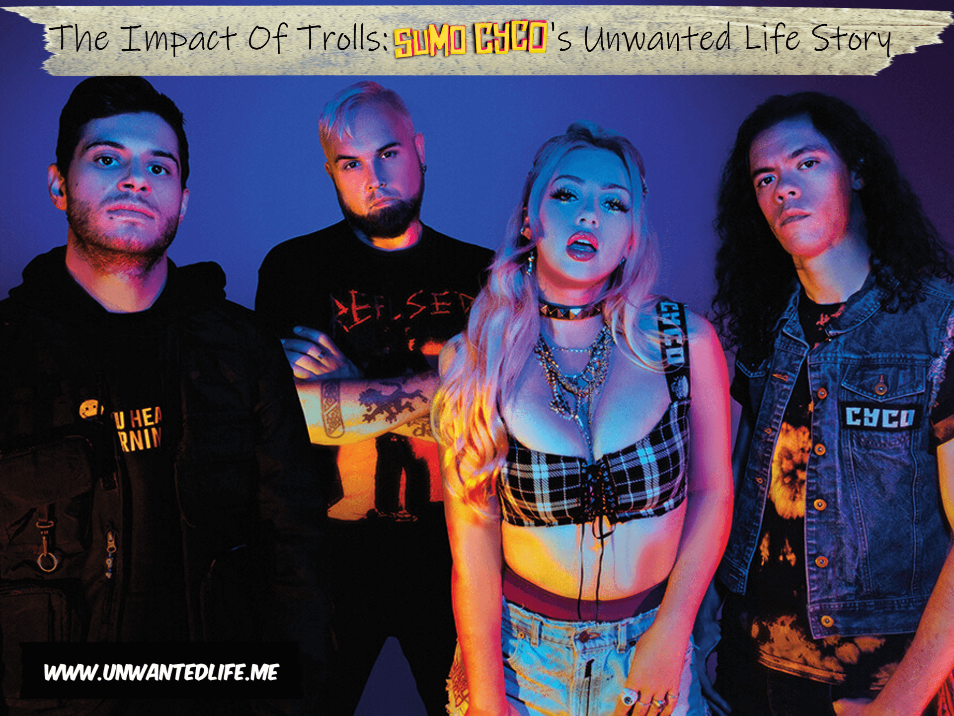 A photo of the band Sumo Cyco to represent the topic of the article The Impact Of Trolls: Sumo Cyco's Unwanted Life Story
