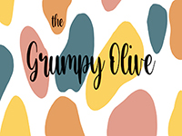 Logo for The Grumpy Olive